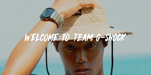 » TEAM G-SHOCK:KEANU CHRIS KAMIYAMA